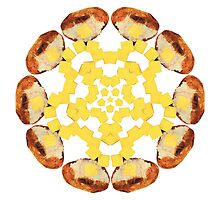Buttered Baked Potato Mandala by Jamila Tazewell