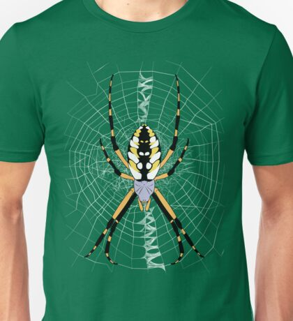 Golden Argiope Unisex T-Shirt