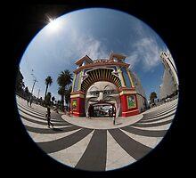 Luna park, Melbourne, Australia by Pauline Tims