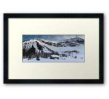 Highwood Rockies  Framed Print