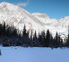 Highwood Rockies panorama by zumi