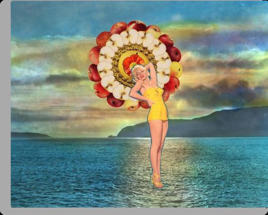 Apple Goddess by Jamila Tazewell
