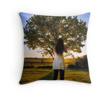 The Wishing Tree Throw Pillow