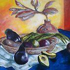 Still Life with Avocado by sandrarosiak