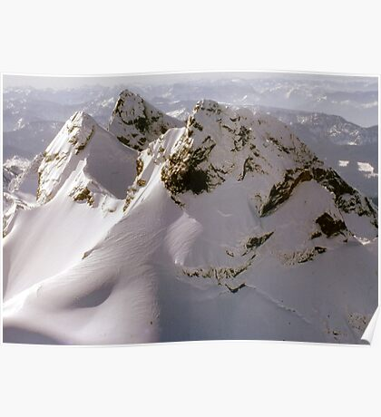 Snowy Mountain Poster