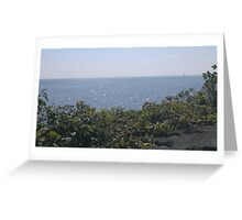 Clear Sailing on the Horizon Greeting Card
