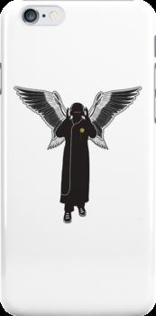 Audio Angel iphone case by MuscularTeeth
