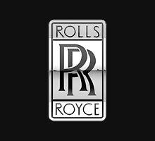 Rolls Royce - 3D Badge on Black T-Shirt