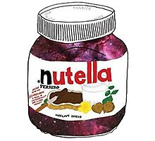 GALAXY NUTELLA Photographic Print