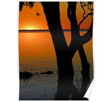 Lake Pammamaroo NSW Poster