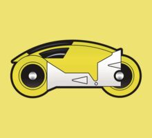 TRON Classic Lightcycle (Yellow) by Eozen