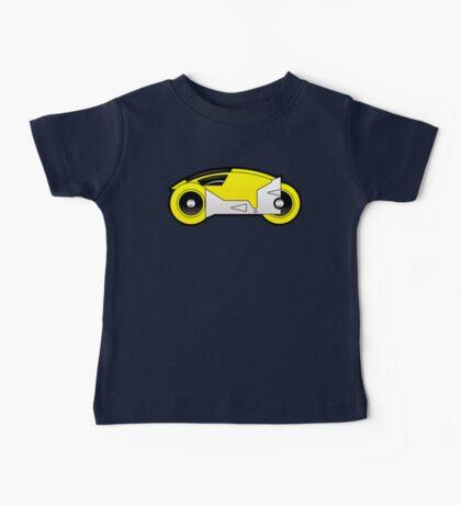 TRON Classic Lightcycle (Yellow) Baby Tee