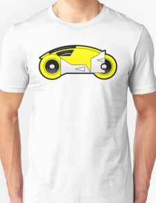 TRON Classic Lightcycle (Yellow) Unisex T-Shirt