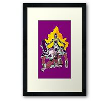The Evolution of Frieza Framed Print