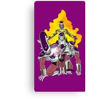 The Evolution of Frieza Canvas Print