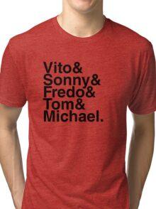 Vito & Sonny & Fredo & Tom & Michael Tri-blend T-Shirt