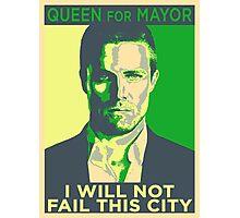 Queen for Mayor! Photographic Print