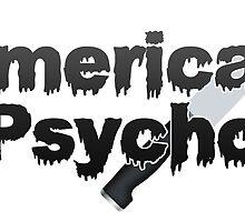 American Psycho by queenbeedigital