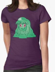 Slime Girl Womens Fitted T-Shirt