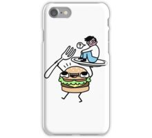 Dinner Is Served! iPhone Case/Skin
