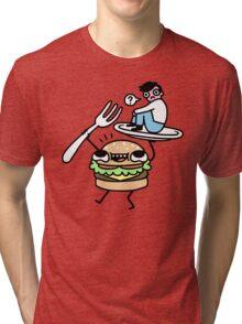 Dinner Is Served! Tri-blend T-Shirt