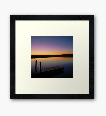 Dawn Daybreak Framed Print