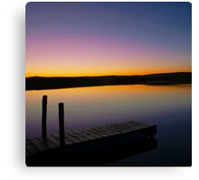Dawn Daybreak Canvas Print