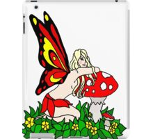 Sassy Faerie and Mushrooms iPad Case/Skin