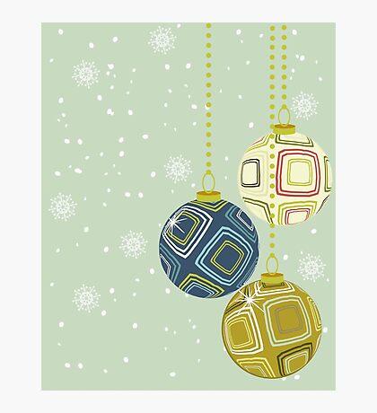 merry xmas! Photographic Print