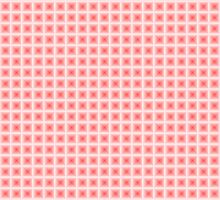 Squares - Red + White Border by cmmei