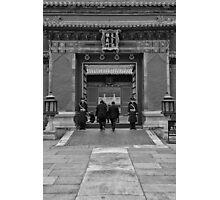 Entering Photographic Print