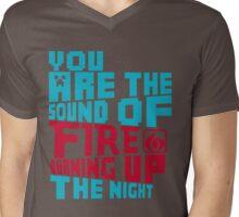 Sound Of Fire- This Century Mens V-Neck T-Shirt