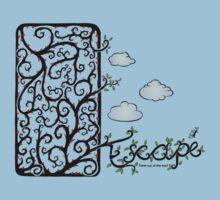 Escape (for light t-shirt colours) Kids Clothes