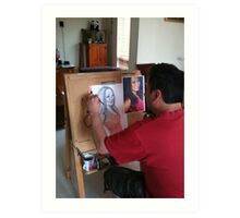 Me  ( 5/11/2011 )  Art Print