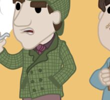 Lil Holmes & Watson Sticker