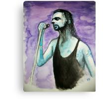 Portrait of Dave Gahan - DM :))  Canvas Print