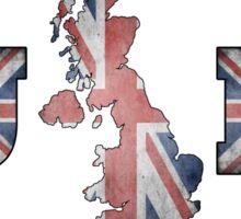 UK - Union Jack Sticker