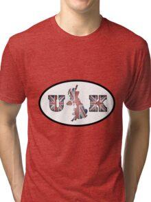 UK - Union Jack Tri-blend T-Shirt