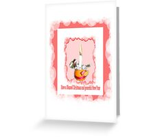 Christmas Candle Greeting card/poster Greeting Card