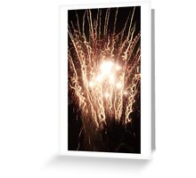 Electricity in the Night Sky Greeting Card