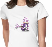 Purpley Knightey Womens Fitted T-Shirt