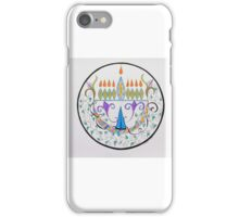 Hanukkah Menorah/1 iPhone Case/Skin