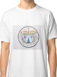 Hanukkah Menorah/1 Classic T-Shirt