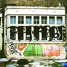 Backyard Art in Brick Lane by Dita Rosted