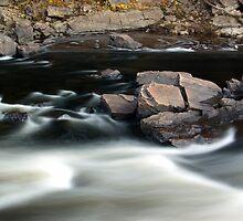 Dorwin Falls Bend - November 2011 by Joseph Rotindo