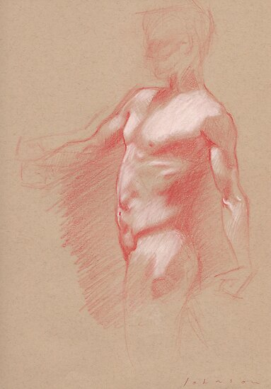 Male Torso by Dan Johnson