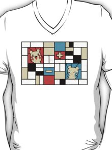 Composition with Plusle and Minun T-Shirt