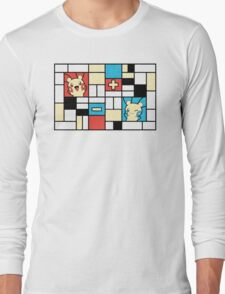Composition with Positives and Negatives Long Sleeve T-Shirt