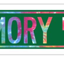 memory lane Sticker