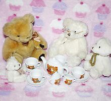 TeddyBears Tea Party by AnnDixon